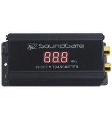 Modulatore AUX-IN FM PLL 40 canali, ingressi RCA