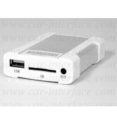 VOLKSWAGEN FAKRA XCARLINK Interface USB / SD / iPod / iPhone / AUX Front