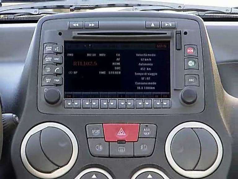 Fiat Connect Nav Interfaccia Usb Sd Aux Xcarlink