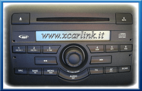 fiat autoradio di serie interfaccia usb sd aux xcarlink. Black Bedroom Furniture Sets. Home Design Ideas