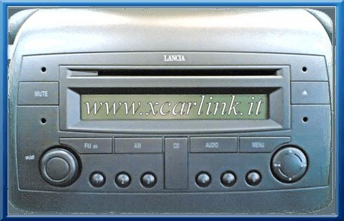 Lancia autoradio di serie interfaccia usb sd aux xcarlink - Autoradio lancia ypsilon porta usb ...