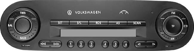 Vw New Car Xm Radio Trial