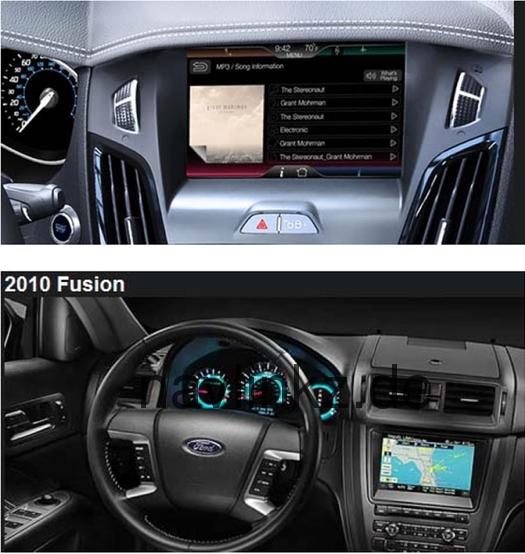 Sistemi di navigazione originali Ford supportati