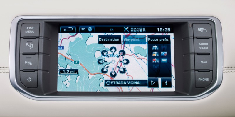Evoque Infotainment 3 Touch