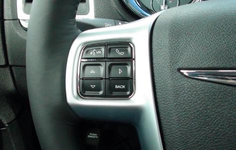 Menù interfaccia selezionabile premendo 4 volte il tasto BACK sul volante