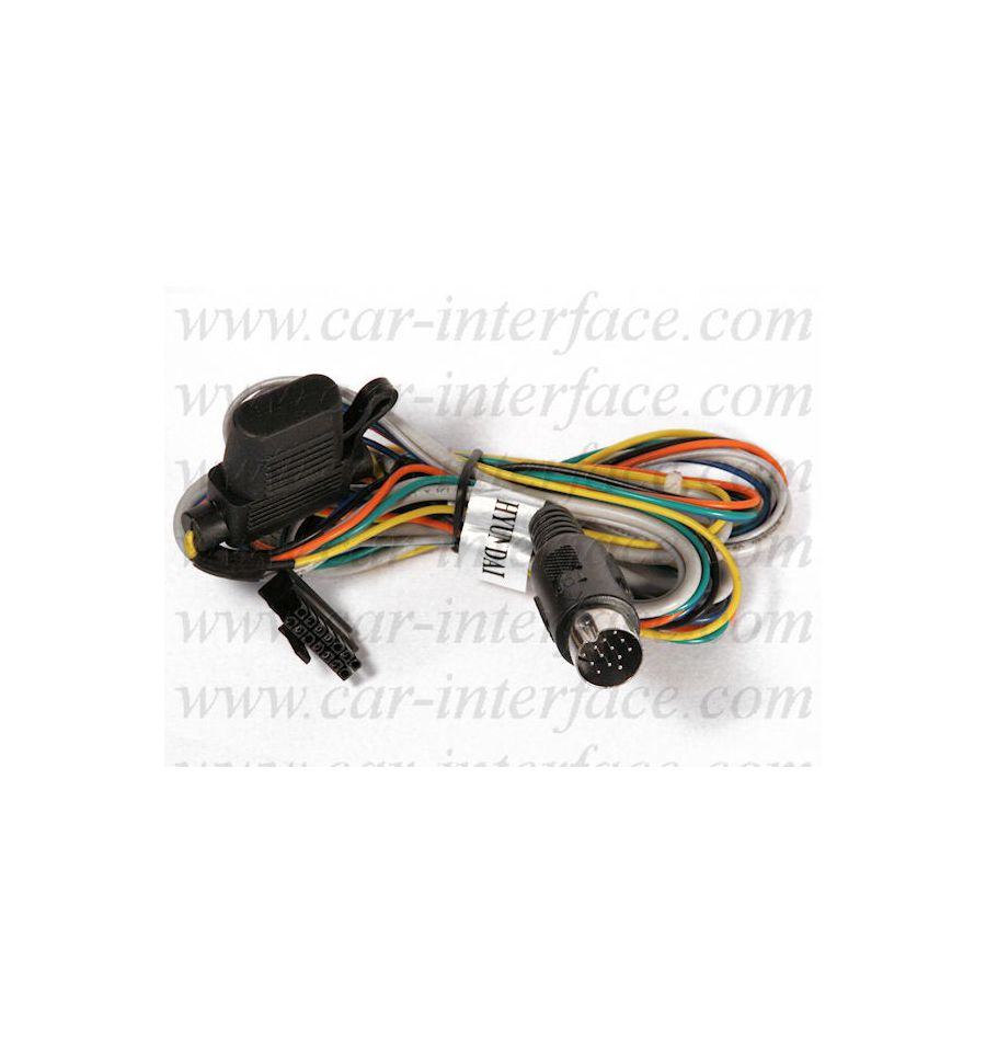 Hyundai 13 Pin USB / SD / AUX Interface Xcarlink