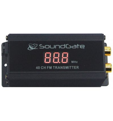 AUX-IN FM PLL 40 CH Wireless Transmitter 40 canali,RCA IN