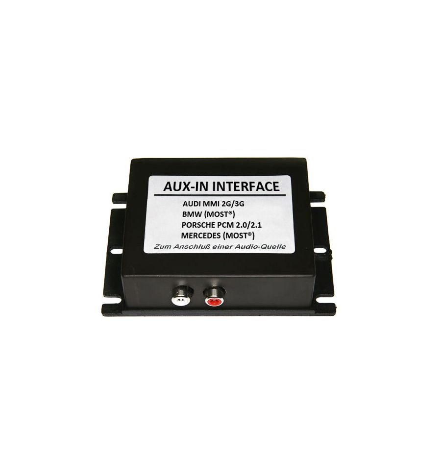 Aux In Interface Audi With Most Mmi3g Basic High