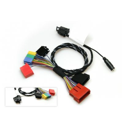 Wiring harness ISO spare part for FISCON hands free kit