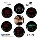 """FISCON Bluetooth Handsfree - """"Basic"""" Skoda - With ceiling lights microphone"""