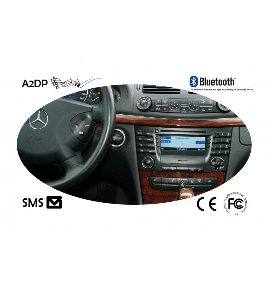 Fiscon bluetooth handsfree pro mercedes for Bluetooth for mercedes benz