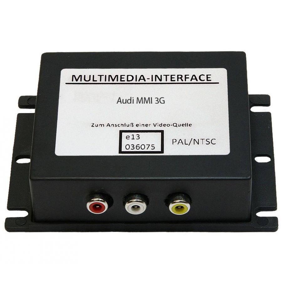 Audio video interface for audi mmi3g high mmi3g for 3 box auto in vendita