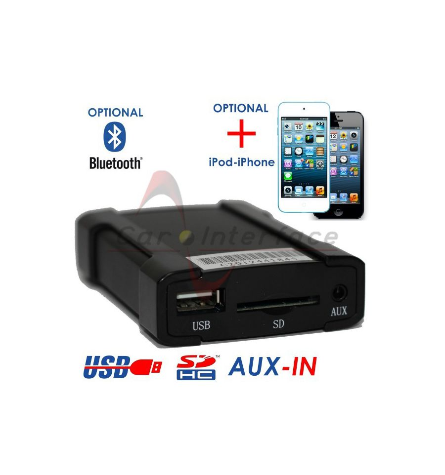 FIAT CONNECT NAV XCARLINK Interface USB/SD/AUX ...
