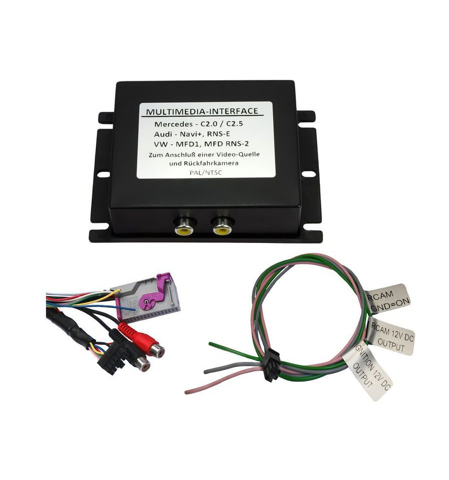 C Logic Audio Video Interface For Audi Rns E With Rear