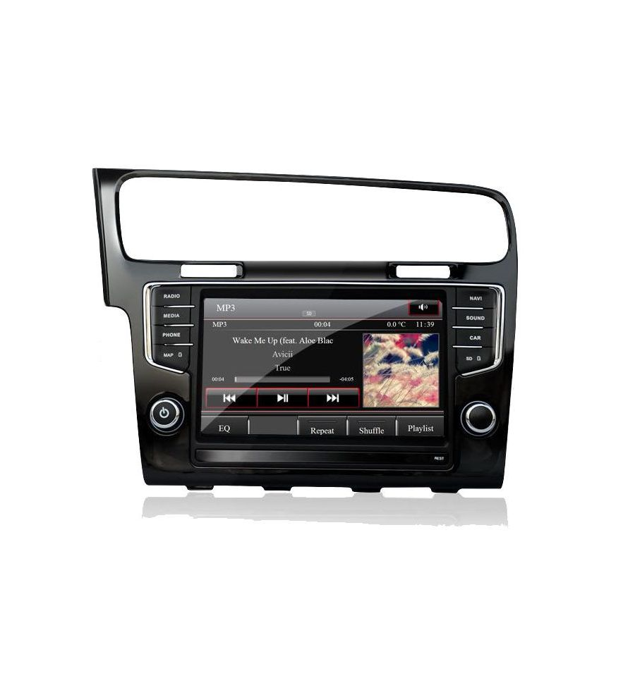 volkswagen golf 7 5g gps navigation system upgrade for composition media and discover media. Black Bedroom Furniture Sets. Home Design Ideas