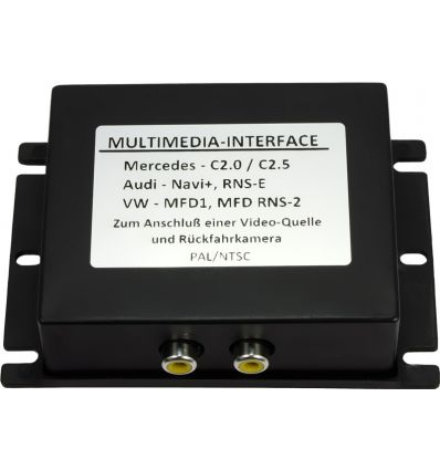 Audio - Video and reverse camera input interface for Volkswagen MFD2/RNS2,Skoda Nexus, w/o factory RVC