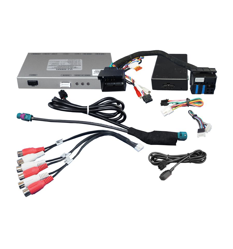 Video Interface For Mercedes Vehicles Generation Ntg 4 5
