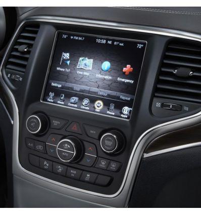 GPS navigation upgrade for Jeep Cherokee e Grand Cherokee uConnect