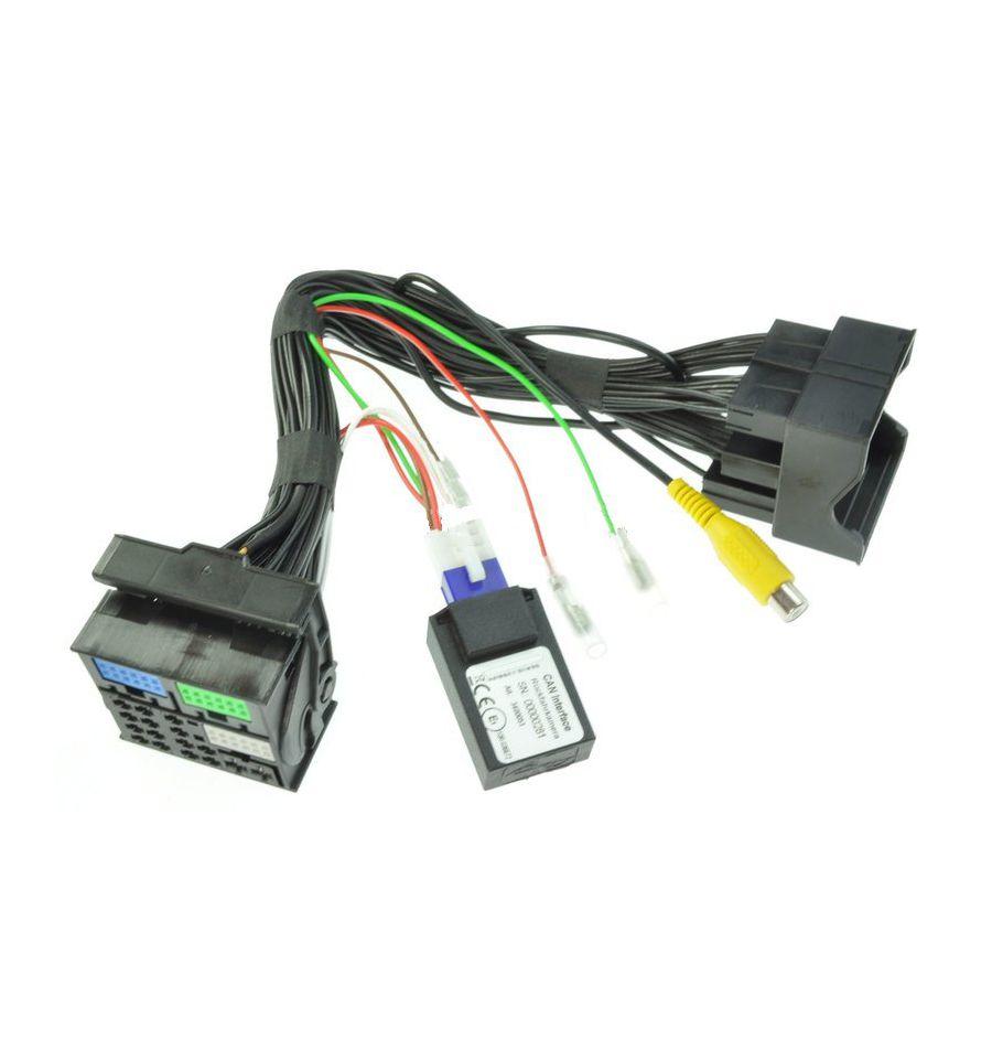 Reverse camera input interface for VW MIB STD2 PQ /+NAV or MIB/MIB2