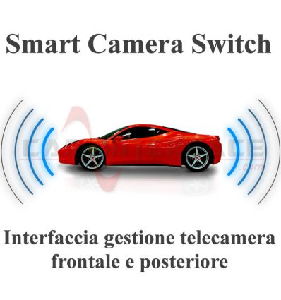 Smart Camera Switch - interfaccia gestione telecamera frontale e posteriore