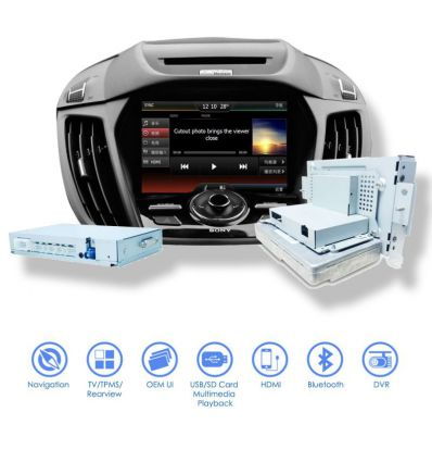 Ford SYNC - MyFord Touch upgrade sistema di navigazione GPS multimediale
