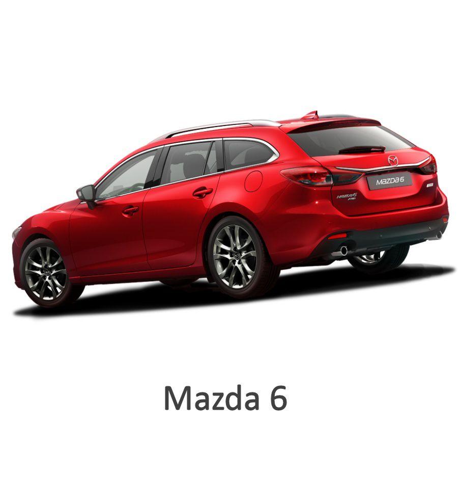 Mazda 6: Rear Camera Plug&Play Kit For Mazda 6 2014