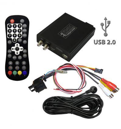 Sintonizzatore ricevitore digitale terrestre DVB-T con player audio/video USB