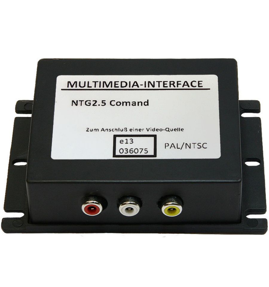 audio video interface for mercedes comand aps ntg2 5. Black Bedroom Furniture Sets. Home Design Ideas