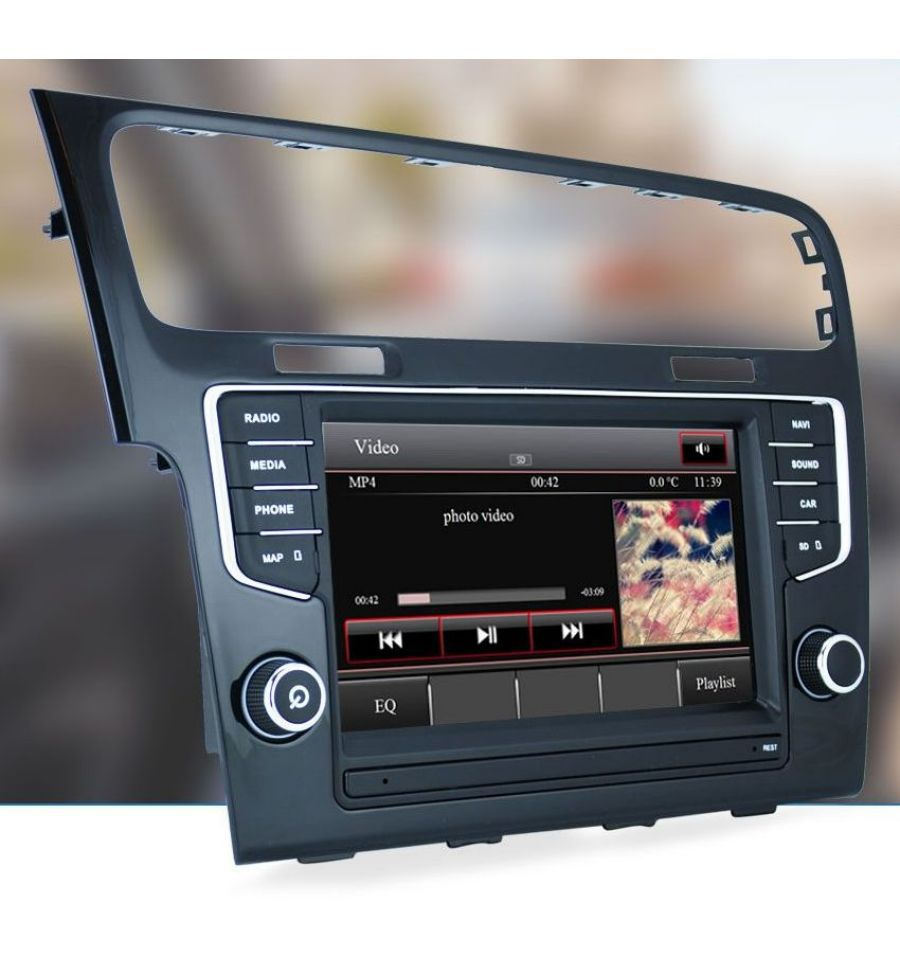volkswagen golf 7 5g gps navigation system upgrade for composition media and discover media 6 5. Black Bedroom Furniture Sets. Home Design Ideas