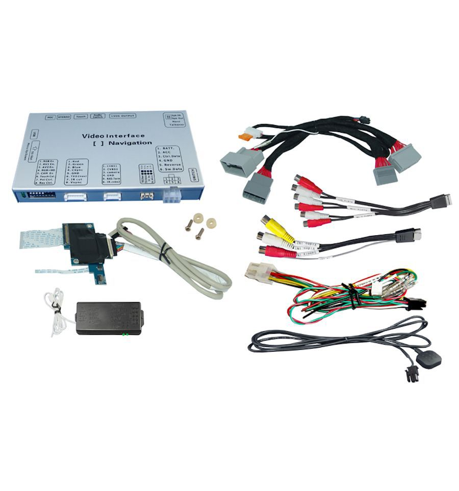 Video Interface For Honda Accord Civic Hr Vmodel Years 2013 2014 Head Unit With All In One