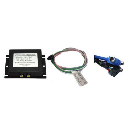AUDI Navi Plus RNS-D Audio - Video and reverse camera input interface