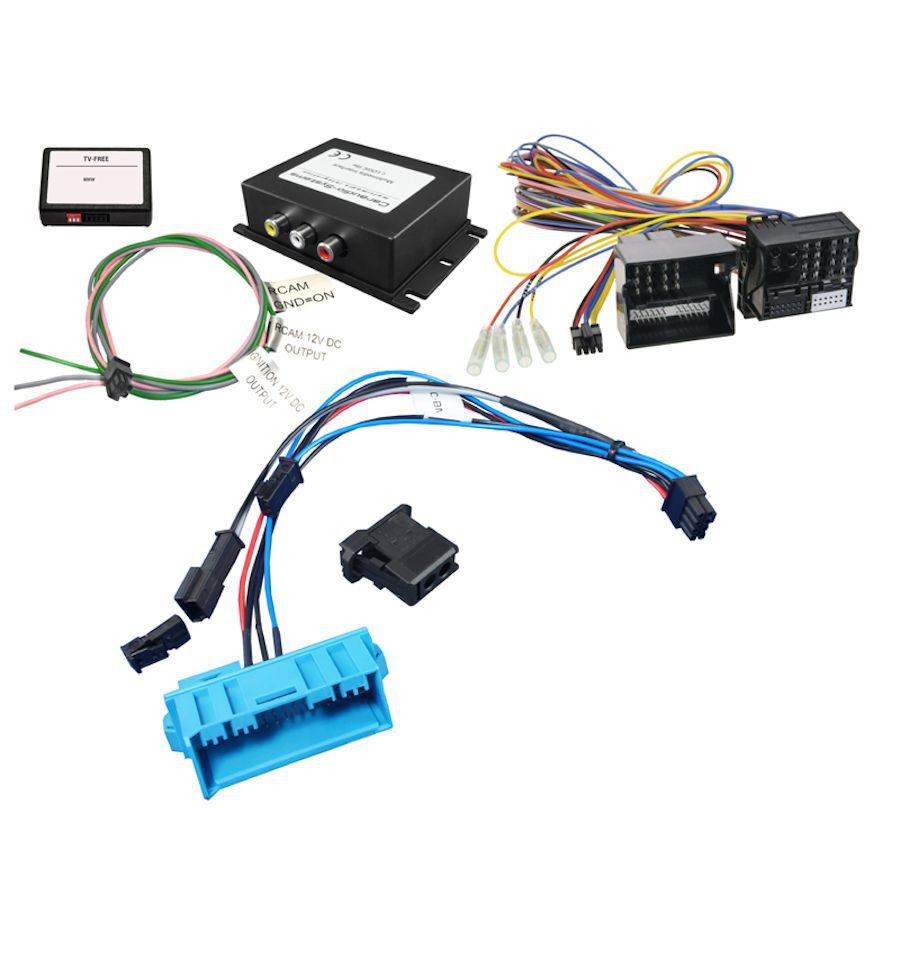 Audio Video And Reverse Camera Input Interface Bmw Professional C C