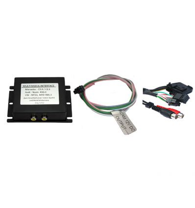 Mercedes Comand 2 0 Audio - Video and reverse camera input interface