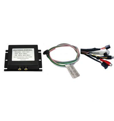 Mercedes Comand 2.5 Audio - Video and reverse camera input interface