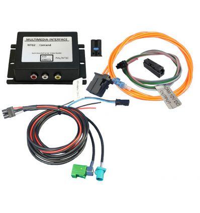 Mercedes ComandAPS NTG1/NTG2 Audio - Video and reverse camera input interface