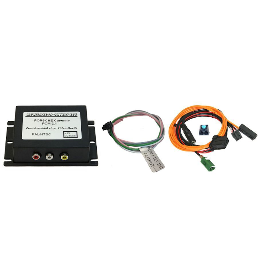 PORSCHE PCM 2 1 Audio - Video and reverse camera input interface
