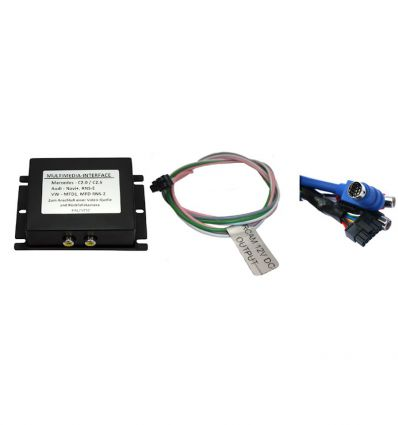 SEAT MFD (4:3) Audio - Video and reverse camera input interface