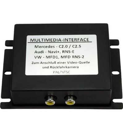 SEAT MFD2/RNS2 Nexus Audio - Video and reverse camera input interface for vehicles w/o factory RVC