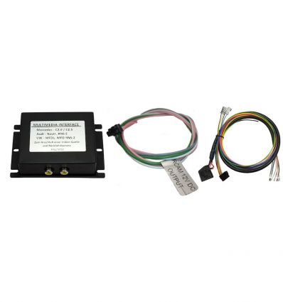 SEAT MFD2/RNS2 Nexus Audio - Video input interface for vehicles with factory RVC