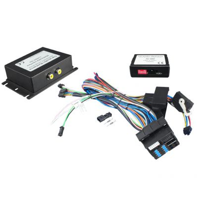Audio - Video input interface for Skoda Columbus RNS510 RNS810 Trinax, without factory RVC