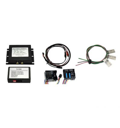 Audio - Video input interface for Seat Trinax RNS510 RNS810 Columbus, with factory RVC