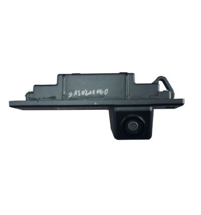 BMW Rear-view camera exchange license-plate illumination with guide-lines and yellow LED for 1series 6series Z4