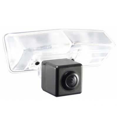 LEXUS CT200h Rear-view camera exchange license-plate illumination with guide-lines