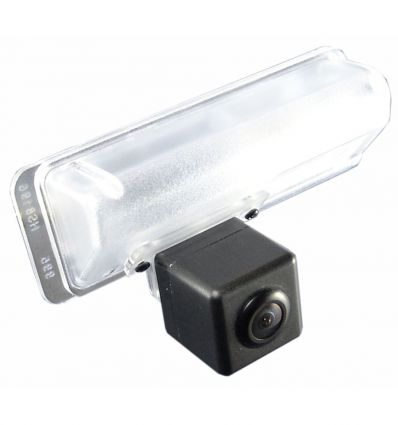 LEXUS ES(250) Rear-view camera exchange license-plate illumination with guide-lines and yellow LED