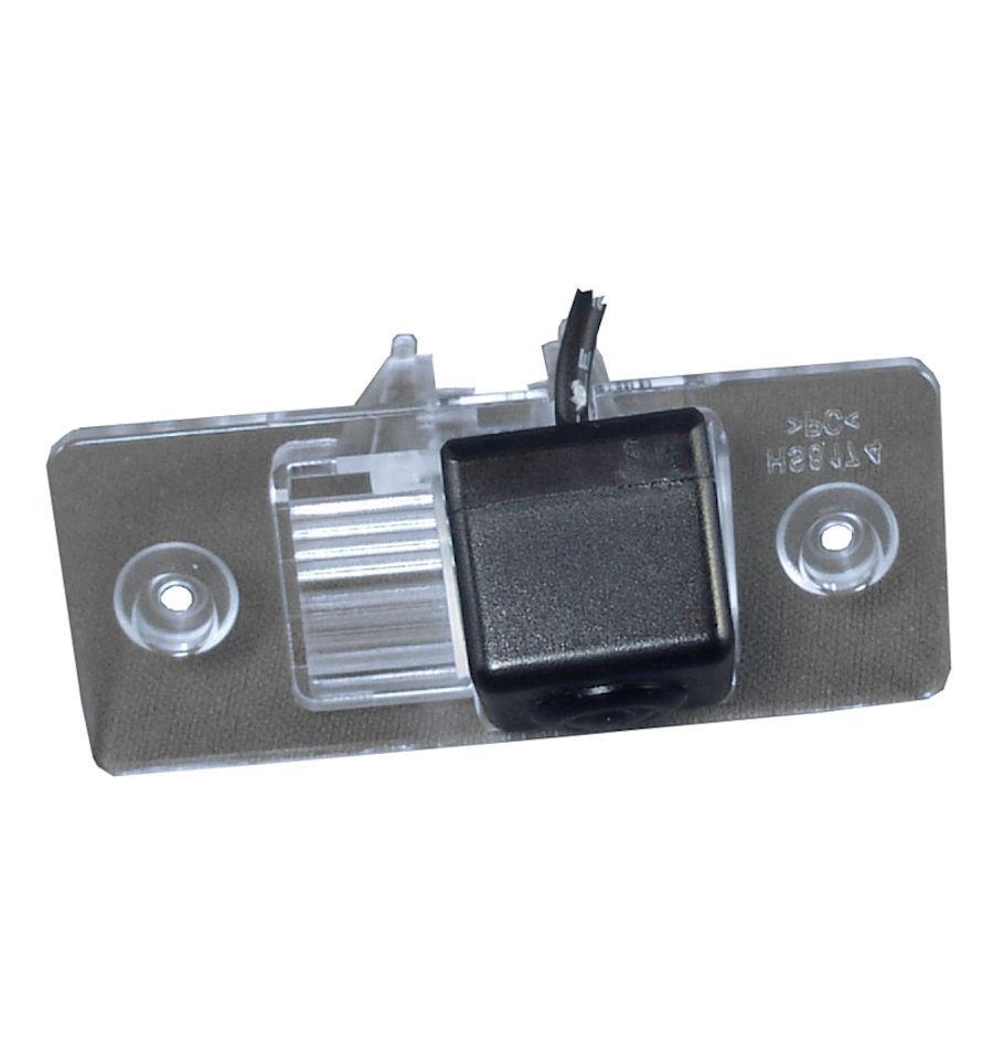 Retrocamera su luce targa con linee guida per porsche ci for Camera targa