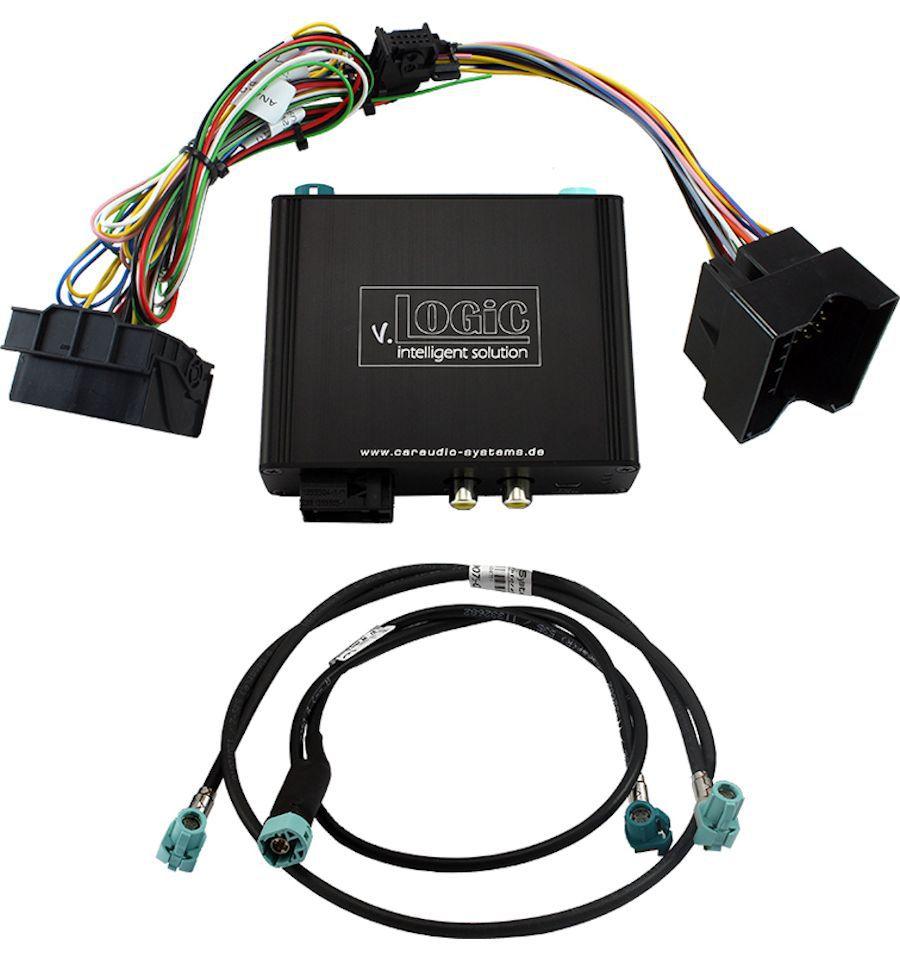 A1 RMC radio Q3 mmi 3g Backup Camera system Integration Audi