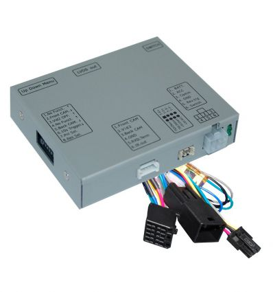 OPEL Navi 900 intelliLink Reverse and front camera input interface