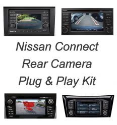 Rear camera Plug&Play kit for Nissan Connect