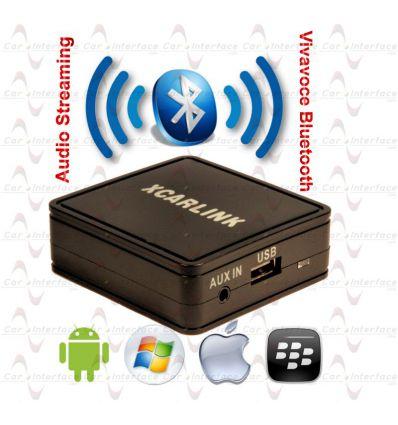 Fiat Ulysse e Scudo RD4 CAN Interfaccia Vivavoce Bluetooth e Streaming Audio