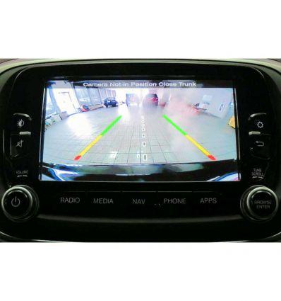 "Fiat Uconnect 6,5"" interfaccia video telecamera retromarcia ed anteriore"
